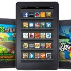 新Kindle Fire或将发布 有两种尺寸版本