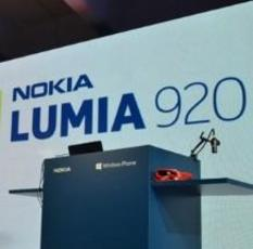 硬件全面升级 诺基亚发布Lumia 920/820