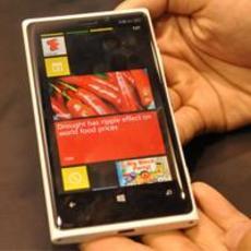 诺基亚WP8双核 Lumia 920压轴通信展
