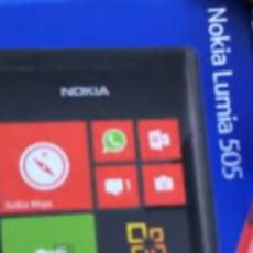 3.7英寸WP7.8新机 Lumia 505真身首次曝光