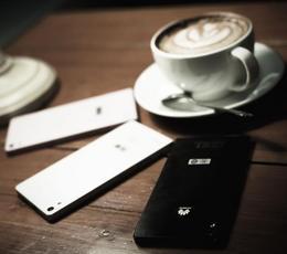 浓情咖啡物语 华为Ascend P6优雅出镜