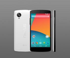 黑/白色Nexus 5亮相 白色遭网友嫌弃