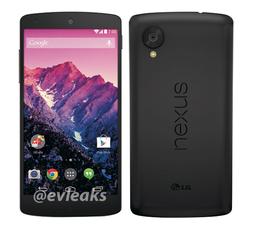 5寸LG Nexus 5将于10月31号发布