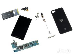 探究BlackBerry Z10 还未上市已遭拆解