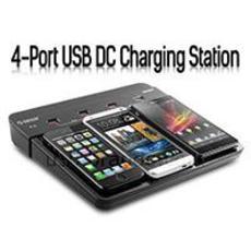 一次搞定四台数码设备的多用USB手机充电站