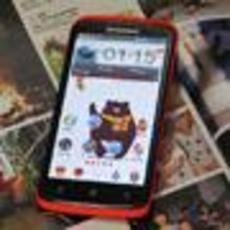 首款四核女性手机 联想S820图赏