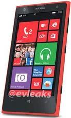4100万红色版诺基亚Lumia 1020现身