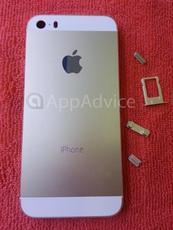 多图:黄金版iPhone 5S高清谍照流出
