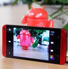 """""""耀""""在有色金属 HTC One红色版图赏"""