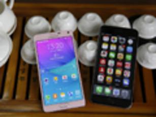 终极厮杀 三星Note4对比iPhone6 Plus