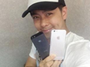 林志颖再出手首曝苹果iPhone 6真机