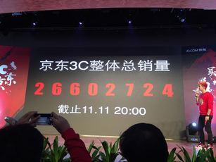 京东双11真战报:3C销量突破2660万台
