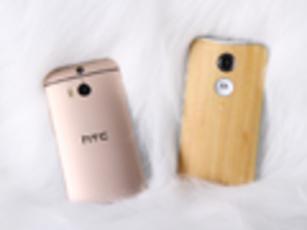 极致手感+美型设计 MOTO X对比HTC M8
