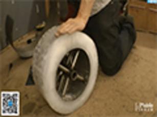 之家汉化:脑洞大开DIY 自行车配冰轮子