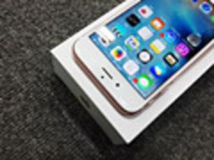 手感刚刚好 iPhone6s玫瑰金真机图赏