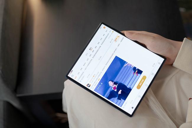 最具创新力折叠屏手机 华为Mate X 29日10:08再次开售
