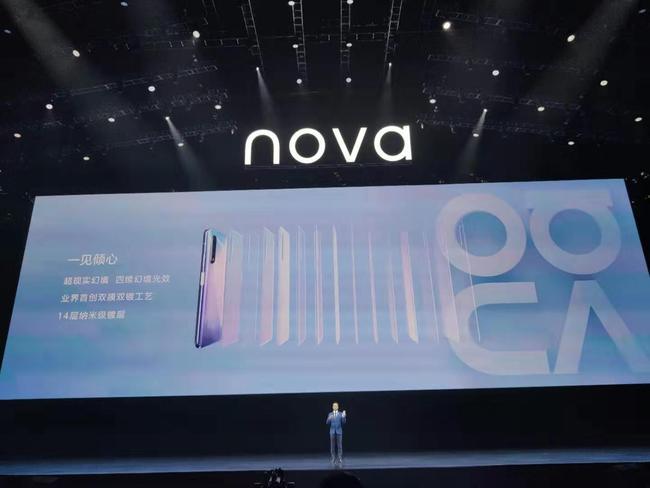 自拍大不一样 华为nova6系列正式发布