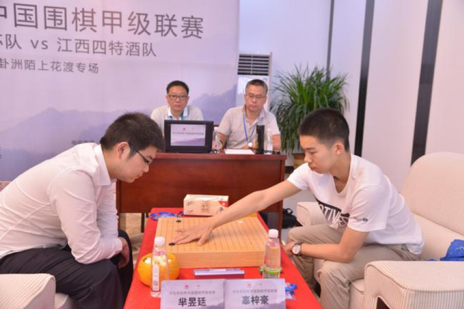 2020年华为手机杯中国围棋甲级联赛网络热身赛完美收官