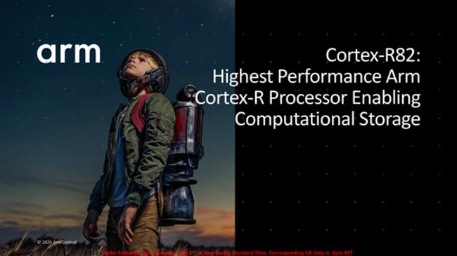 ARM发布首款64位实时控制器Cortex-R82:SSD缓存可达1TB
