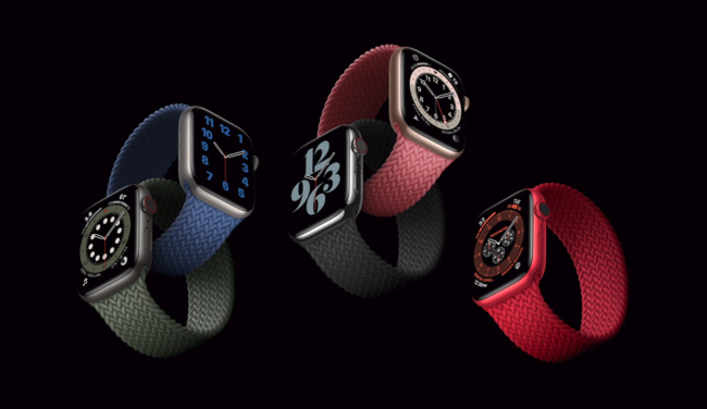 Apple Watch 6/SE发布 配S6/