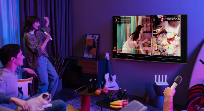 华为智慧屏S系列 是大屏更是拉近家人的亲情枢纽