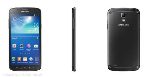 三星推Galaxy S4 Active 5寸超薄防水