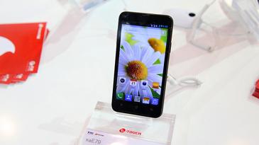 天语E79 5.0寸双核双卡智能手机图赏