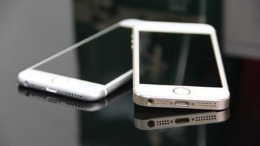前瞻 iPhone5s/iPhone6机模对比图赏