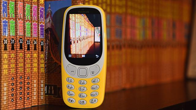 手机有价 情怀无价 新诺基亚3310图赏