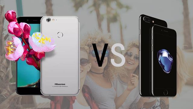 海信千亿国际H10 VS iPhone 7自拍对比评测