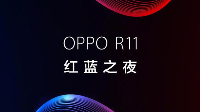 oppo r11海报手绘