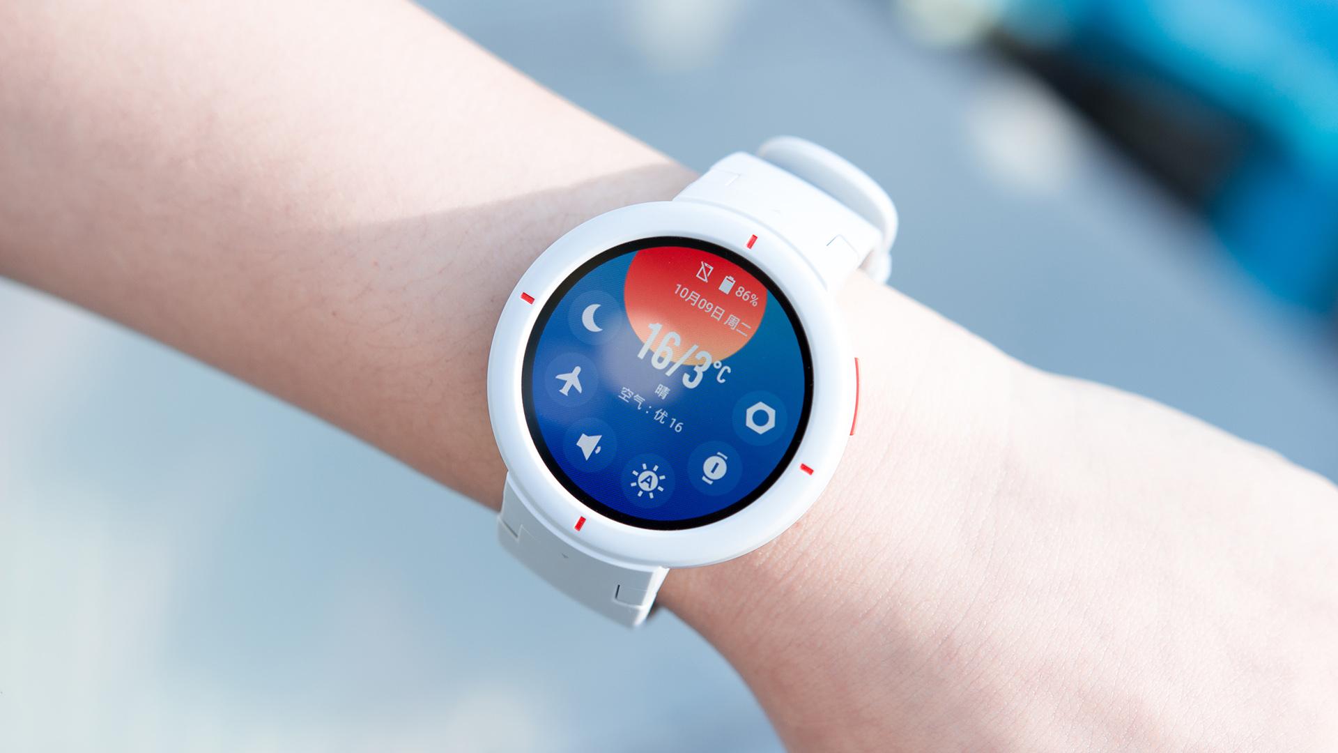 AMAZFIT智能手表图赏:活力配色 简约时尚