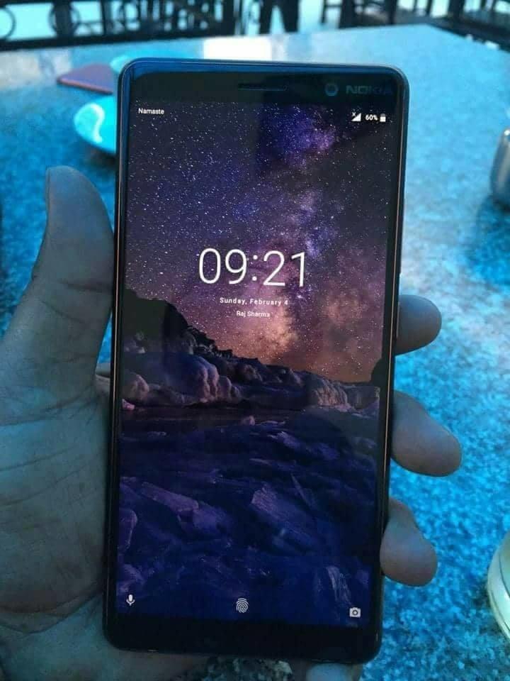 Nokia 7 真机图曝光 全面屏配骁龙660