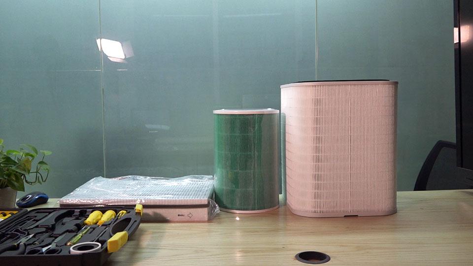 畅呼吸 vs 小米 vs airx 滤芯拆给你看