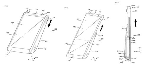 离未来更近一步 三星研发可滚动手机显示屏