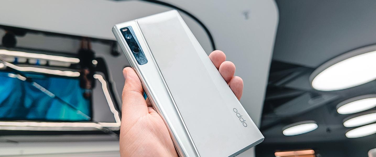 手机形态再跃进!OPPO X 2021概念机图赏