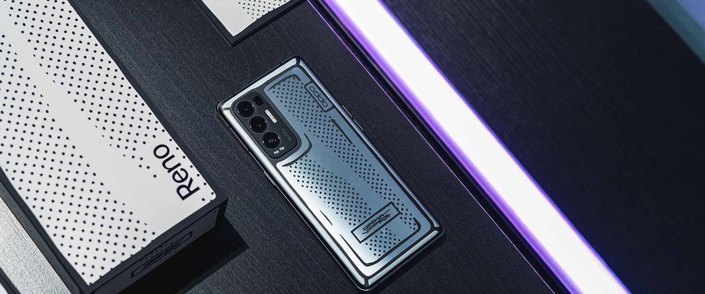 电致变色 OPPO Reno5 Pro+艺术家限定版